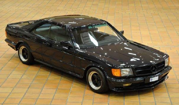 Mercedes 500 SEC AMG 1983