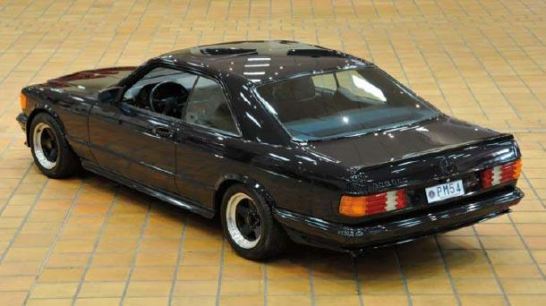 Mercedes 500 SEC AMG 1983