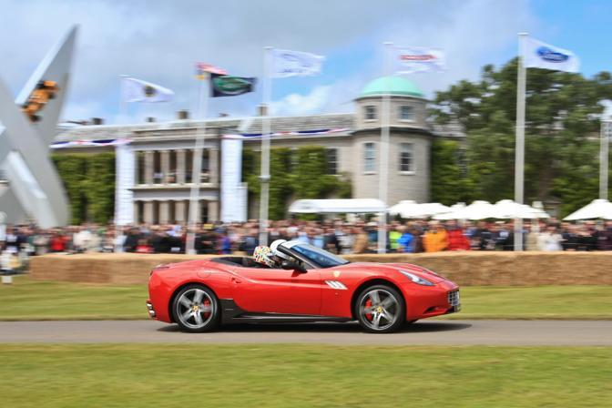 Ferrari California. (Newspress)