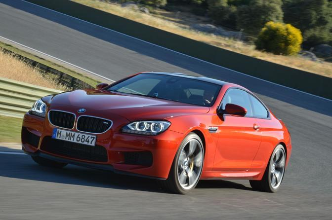 Nuova Bmw M6 coup.