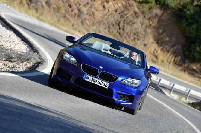 Nuova Bmw M6 cabrio.