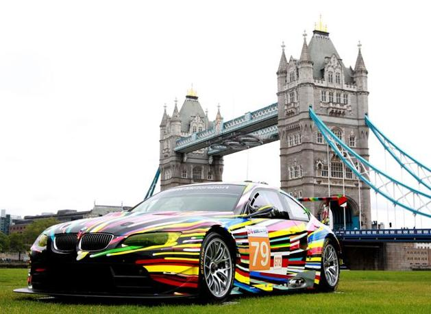 (Bmw press) La Bmw personalizzata da Jeff Koons.