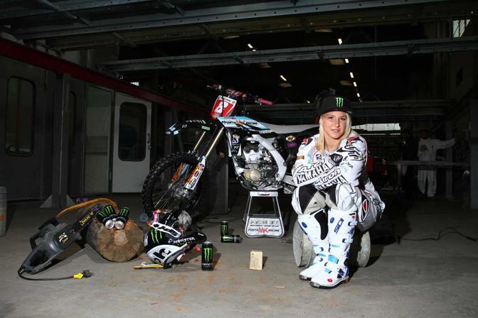Famoso Chiara Fontanesi, è italiana la campionessa mondiale di Motocross WF53