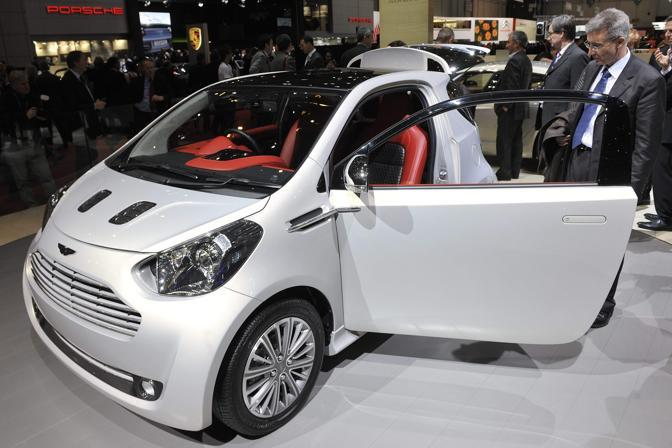 Aston Martin Cygnet, City Car Personalizzabile (Ap)