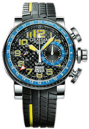 GRAHAM Silverstone Stowe Gmt Blue & Yellow