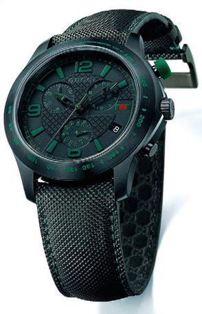 GUCCI TIMEPIECES G-Timeless Extra Large Black