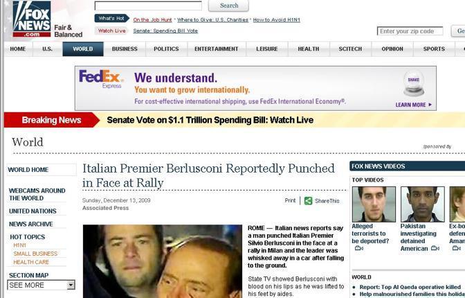 Il sito di FoxNews