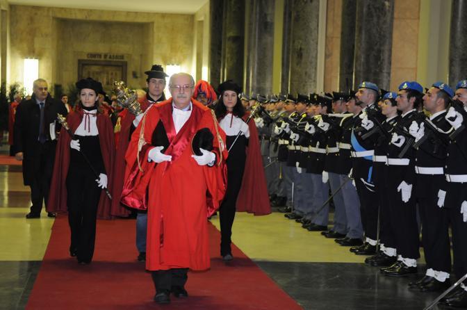 L'inaugurazione dell'anno giudiziario a Milano (Olycom)