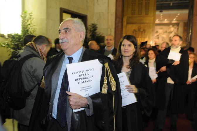 Il pm milanese Armando Spataro (Olycom)