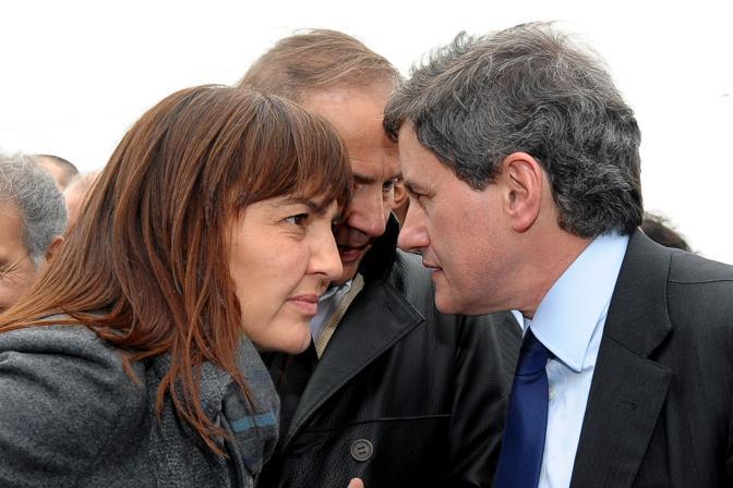 Renata Polverini, Andrea Ronchi e Gianni Alemanno (Inside)