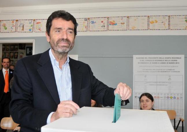Liguria, il candidato del centro destra Sandro Biasotti (Milestone Media)