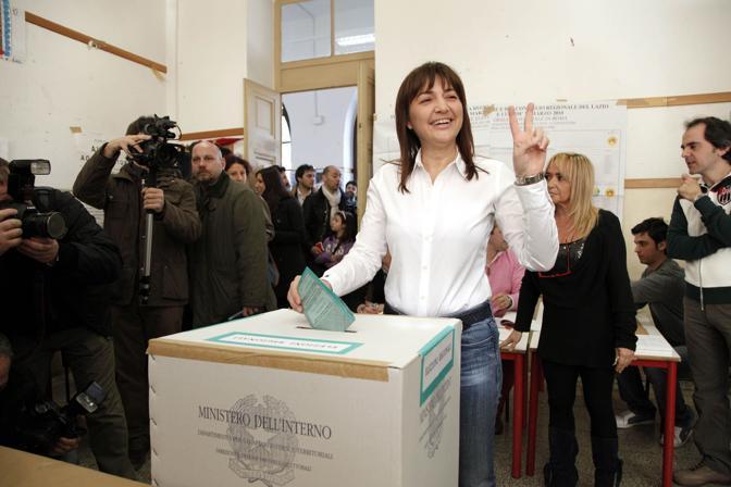 Renata Polverini, candidata Pdl nel Lazio (Blow Up)