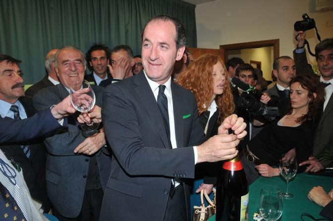 Zaia festeggia la vittoria (Photomasi)