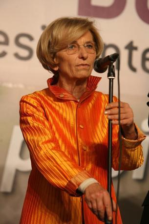 Emma Bonino commenta i risultati. (Benvegnù - Guaitoli)