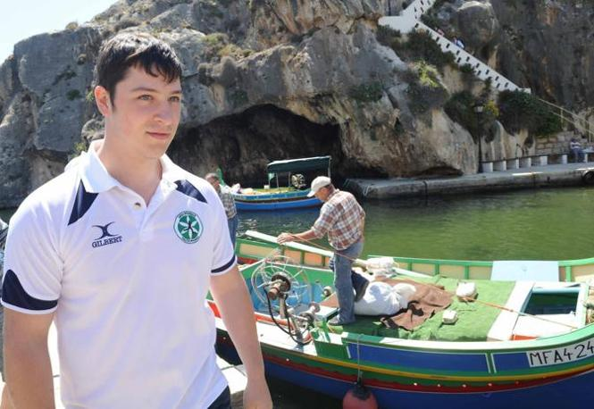 Roberto Bossi, fratello di Renzo e giocatore della Padania calcio (Cavicchi)