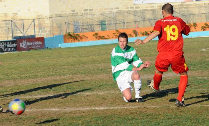 Un momento della semifinale vinto dalla Padania per 2-0 (Cavicchi)