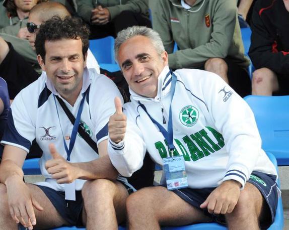 Sandro Mazzola jr. in panchina (Cavicchi)