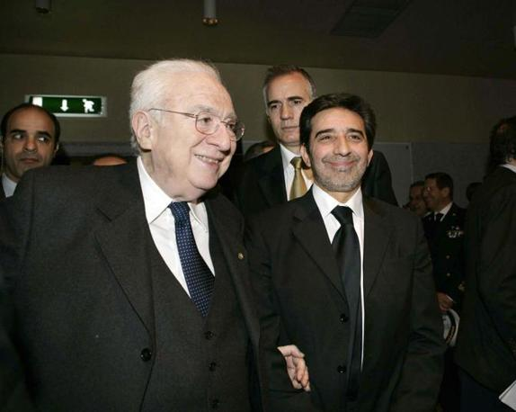 Al Forex di Cagliari durante la prima uscita pubblica di Mario Draghi, governatore di Bankitalia (Arcieri)