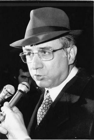 1977 - Francesco Cossiga, ministro dell'Interno (Ansa)