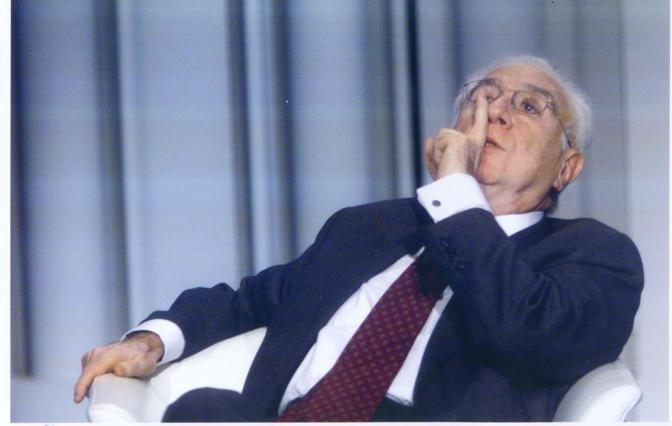 Cossiga nel 2001 (La Presse)