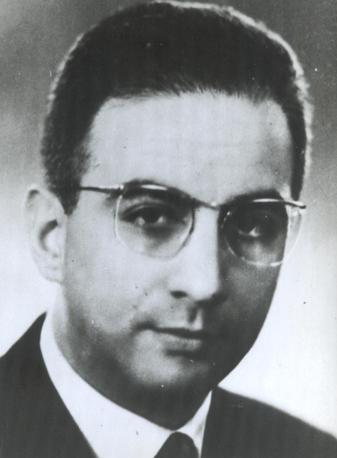 Francesco Cossiga negli anni '50 (Ansa)