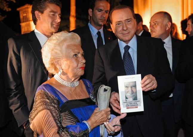 Assunta Almirante e Silvio Berlusconi (Imagoeconomica)