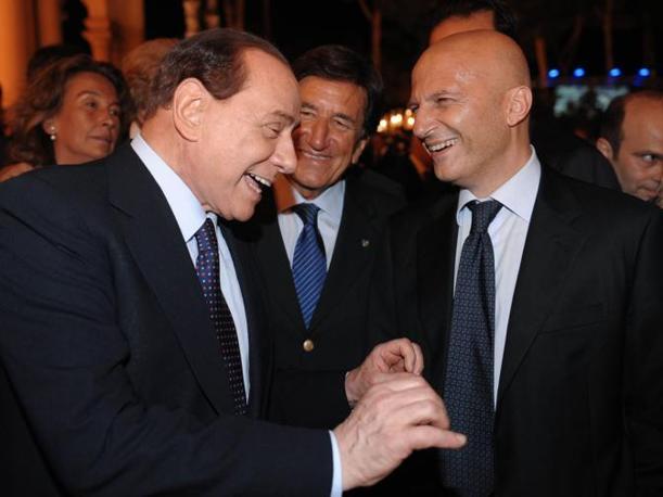 Berlusconi, Scapagnini, Minzolini (Imagoeconomica)