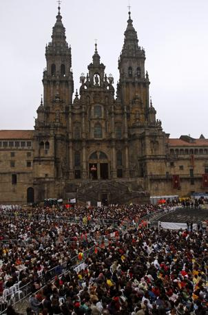 La cattedrale di Santiago de Compostela (Reuters)