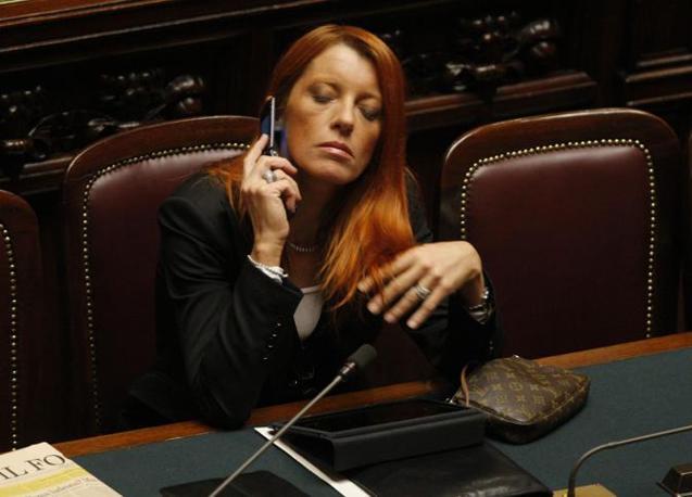 Michela Brambilla alla Camera (Ansa)