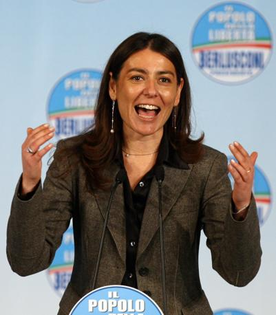 La deputata del Pdl Barbara Saltamartini (Ansa)