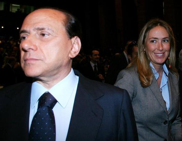 Con Silvio Berlusconi (Graffiti)