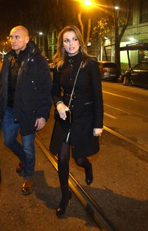 Francesca Pascale a Milano va a cena con Silvio Berlusconi (Photoviews)