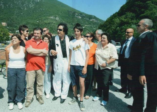 Gheddafi ad Antrodoco (Garofalo)