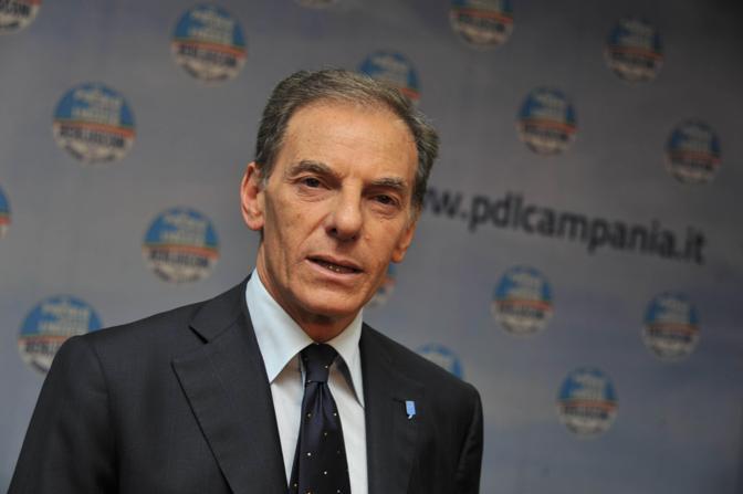 Gianni Lettieri il candidato Pdl a Napoli (Ansa)