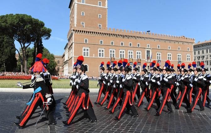 I carabinieri (Afp)