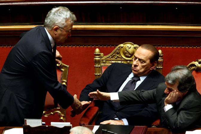I rapporti tra il ministro Tremonti e Brunetta è sempre stato conflittuale (Emblema)