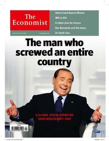 Giugno 2011 - «L'uomo che ha fottuto un intero Paese»