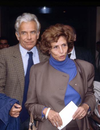 Con Luciana Castellina (Olycom)
