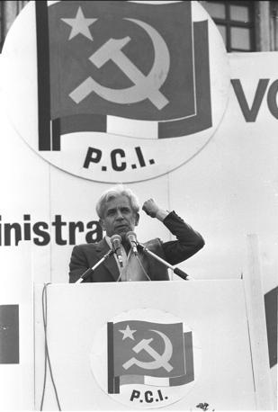 Manifestazione a piazza San Giovanni il 27 giugno 1983 (Agf)