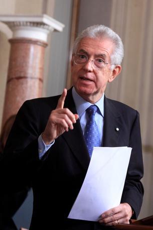 Mario Monti ha tenuto per sè l'interim del ministero dell'Economia (Eidon)