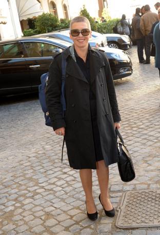Irene Pivetti in una foto recente (Benvegnù - Guaitoli - Cimaglia)