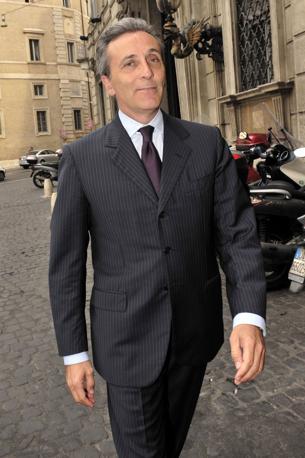 Vittorio Grilli, direttore generale del Tesoro in aspettativa, nominato viceministro all'Economia (Agf)