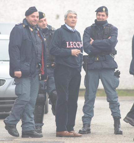Roberto Castelli ex guardasigilli nel governo Berlusconi (Ansa)