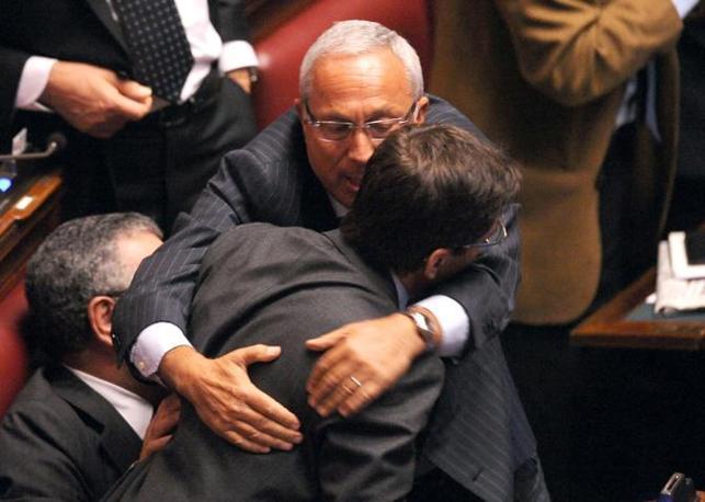 Cosentino con Amedeo Laboccetta (Photoviews)