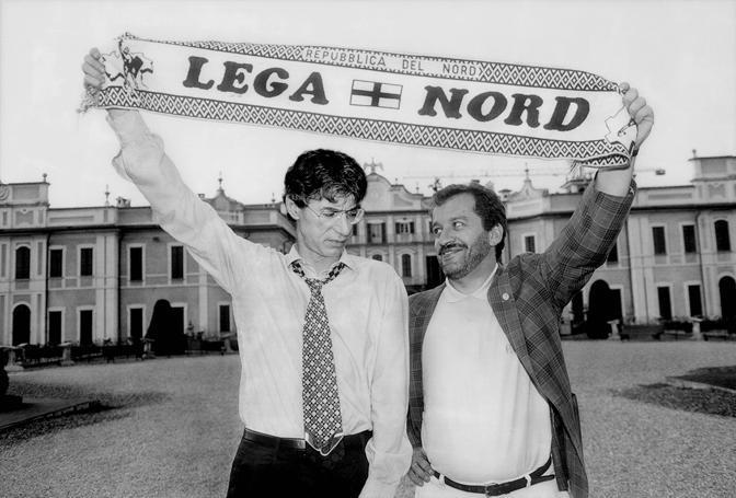 Con Roberto Maroni, ai tempi d'oro., Un'amicizia di lunghissima data che non sempre ha coinciso con la visione politica (Olycom)