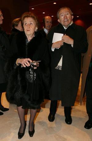 A una prima a Roma con la moglie Livia (LaPresse)