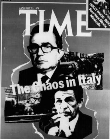 In una copertina del «Time» del '78 insieme a Enrico Berlinguer, dedicata dal noto settimanale alla situazione politica italiana dopo l'omicidio di Moro