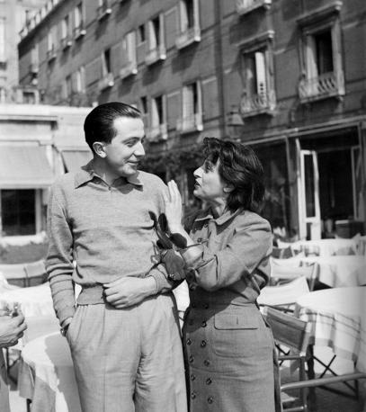Con Anna Magnani a Venezia