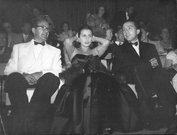 Con Anna Magnani al Festival di Venezia nel 1947