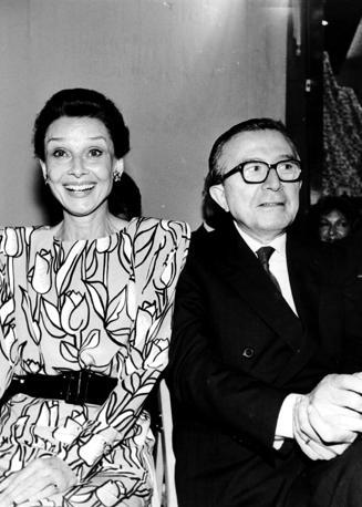 Con Audrey Hepburn (Radogna)